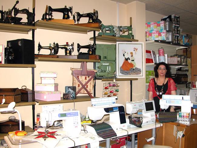 Interior tienda Antigua Casa Capo