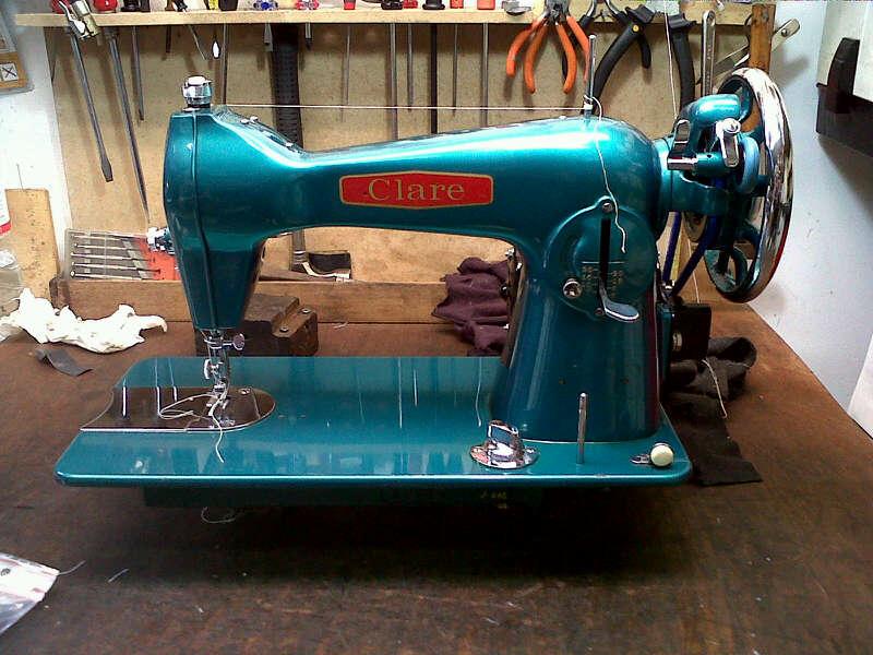 Reparamos todo tipo de máquinas de coser, antiguas y modernas