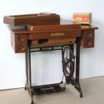 Mesa secreter de madera de pino nueva